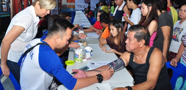 Health Screening in 6 Different Regions of Manila - 1