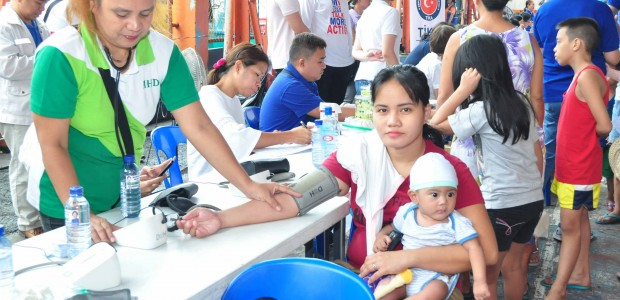 Health Screening in 6 Different Regions of Manila - 4