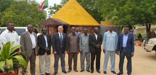 Sudan'da Güney Kordofan Eyaleti Teknik Fakültesi Mesleki Eğitim Atölyelerine Ekipman Desteği - 1
