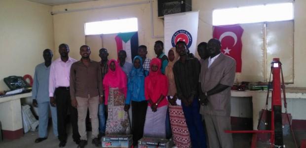 Sudan'da Güney Kordofan Eyaleti Teknik Fakültesi Mesleki Eğitim Atölyelerine Ekipman Desteği - 2