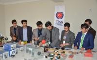 Afganistan'da Semengan Üniversitesinin Fen Laboratuvarları Hizmete Açıldı