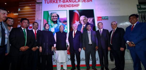 Başbakan Yıldırım Bangladeş'te TİKA Tarafından Yaptırılan Kemoterapi Ünitesinin Açılışını Yaptı - 3