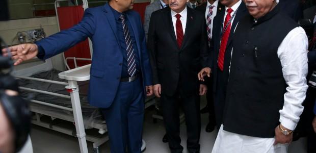 Başbakan Yıldırım Bangladeş'te TİKA Tarafından Yaptırılan Kemoterapi Ünitesinin Açılışını Yaptı - 1