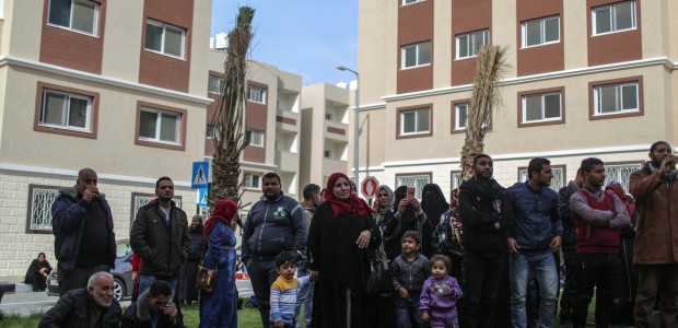 """""""شقق تيكا السكنية"""".. حياة جديدة لـ 320 عائلة بغزة - 1"""