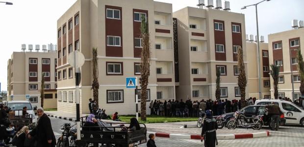 """""""شقق تيكا السكنية"""".. حياة جديدة لـ 320 عائلة بغزة - 3"""
