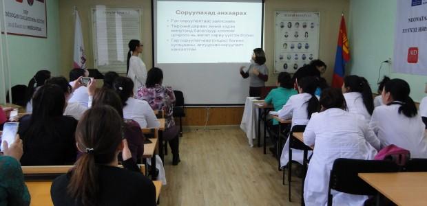 """""""تيكا"""" التركية تقيم دورة تدريبية لأطباء وممرضين في منغوليا - 2"""