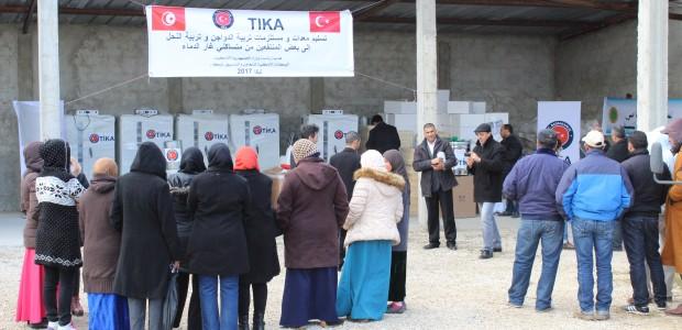 Tunus'ta Kadın ve Gençlere Yönelik Kırsal Kalkınma Projesi Tamamlandı - 2