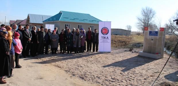 TİKA'dan Kırgızistan'da Kızıl Su Köyü'ne Temiz İçme Suyu  - 2
