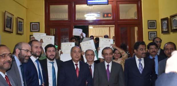 Pakistan'da Mesleki Eğitimini Tamamlayan Kursiyerler Sertifikalarını Aldı - 4