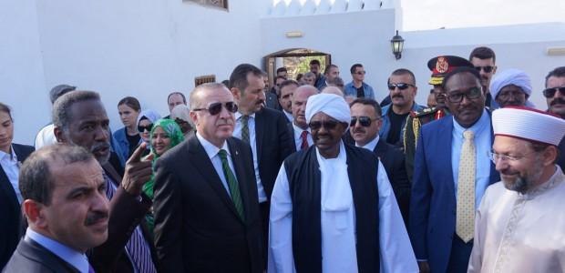 Cumhurbaşkanı Erdoğan, Sevakin Adası'nda - 4