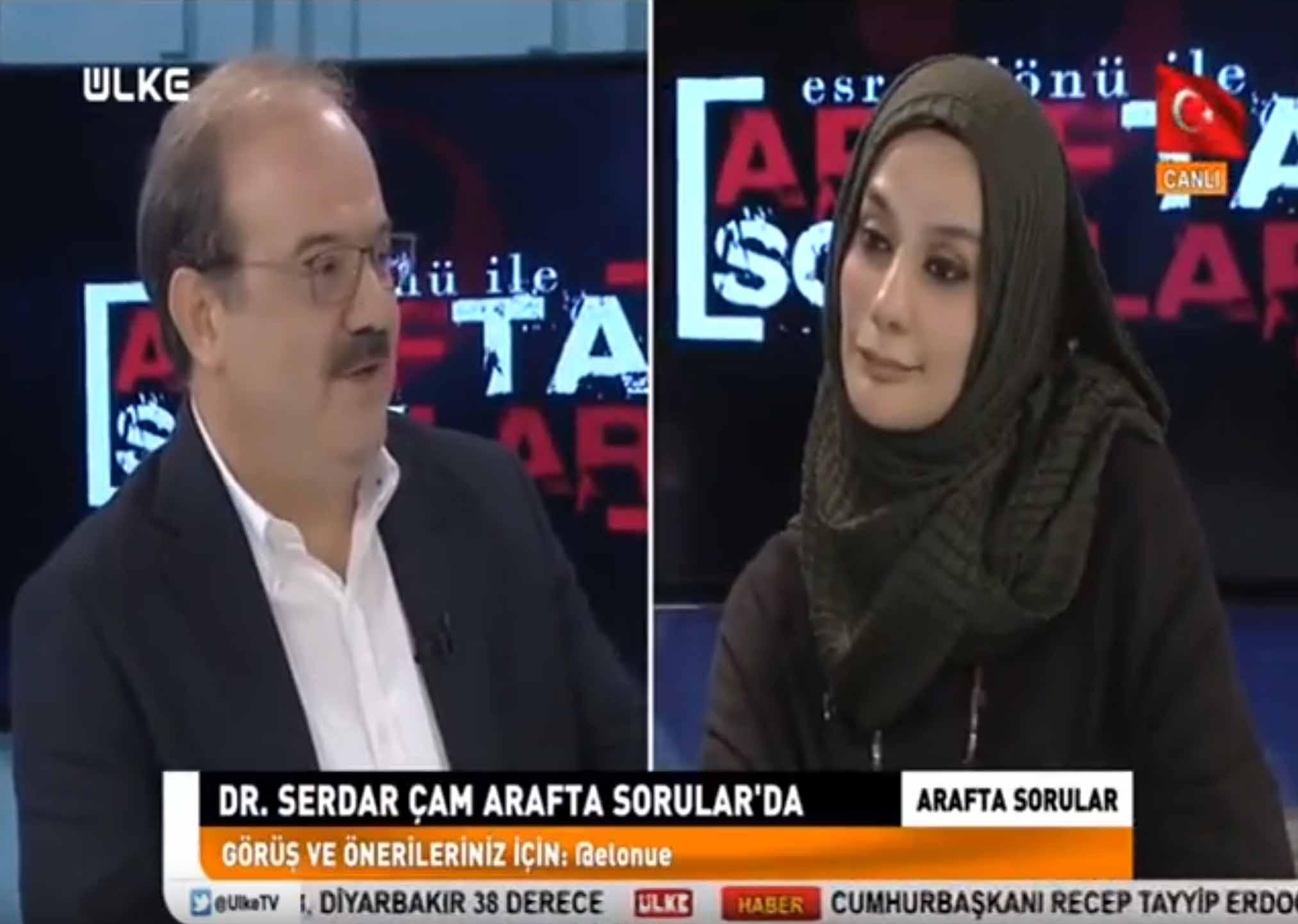 TİKA Başkanı Serdar Çam Ülke TV'de Esra Elönü ile