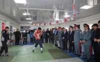 """""""تيكا"""" التركية تفتتح صالة رياضية في مطار كابول الدولي"""