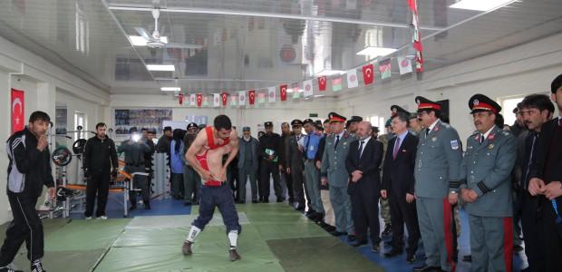 Kabil Hamid Karzai Uluslararası Havaalanı Spor Salonu Hizmete Açıldı - 5