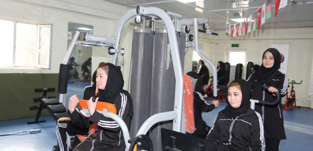 Kabil Hamid Karzai Uluslararası Havaalanı Spor Salonu Hizmete Açıldı - 3