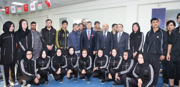 Kabil Hamid Karzai Uluslararası Havaalanı Spor Salonu Hizmete Açıldı - 4