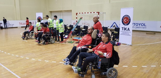 TİKA Supports the Paralympic Sport of BOCCIA in Azerbaijan - 1