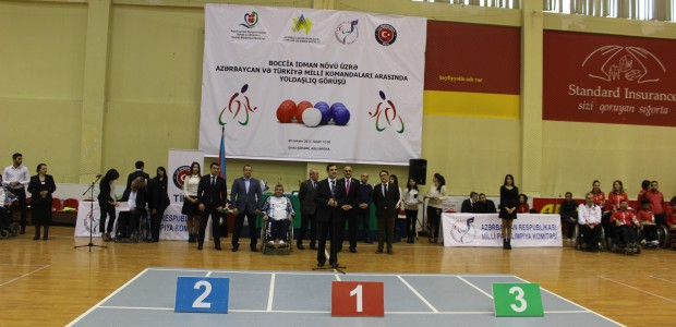 TİKA Supports the Paralympic Sport of BOCCIA in Azerbaijan - 2