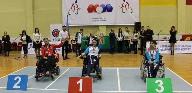 TİKA Supports the Paralympic Sport of BOCCIA in Azerbaijan - 3