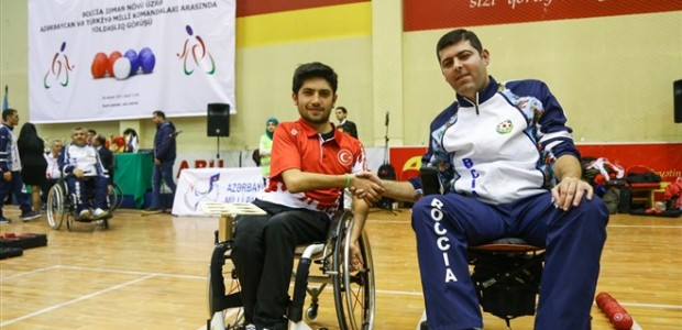 TİKA Supports the Paralympic Sport of BOCCIA in Azerbaijan - 4