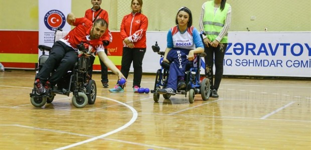 TİKA Supports the Paralympic Sport of BOCCIA in Azerbaijan - 5
