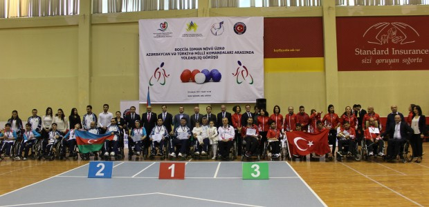 TİKA Supports the Paralympic Sport of BOCCIA in Azerbaijan - 7