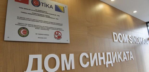 Bosna Hersek Bağımsız Sendikaları Birliği Hizmet Binası TİKA Tarafından Yenilendi - 2