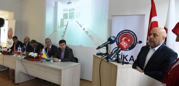 Bosna Hersek Bağımsız Sendikaları Birliği Hizmet Binası TİKA Tarafından Yenilendi - 3