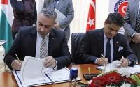 تيكا التركية توقع اتفاقية التعاون مع نظيرتها بيكا الفلسطينية