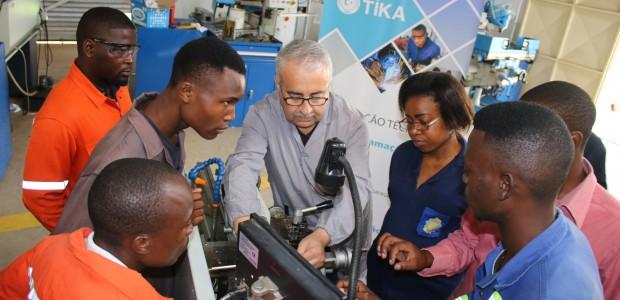 TİKA Türkiye'nin Mesleki Eğitim Tecrübelerini Mozambik'e Aktarıyor - 3
