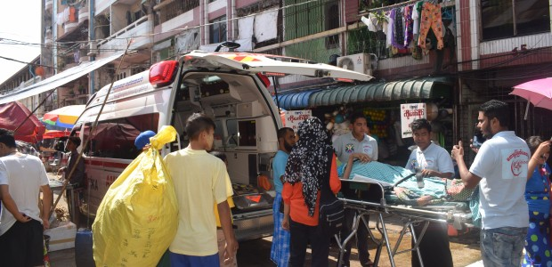 Ambulance Aid in Yangon Myanmar - 4