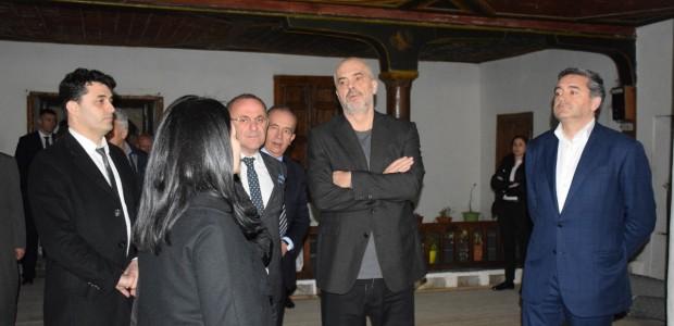 Albanian Prime Minister Edi Rama Inspected TİKA's Restoration Projects in Berat - 1