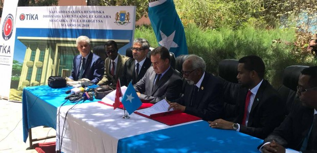 TİKA will reconstruct the Parliament Building in Somalia - 1