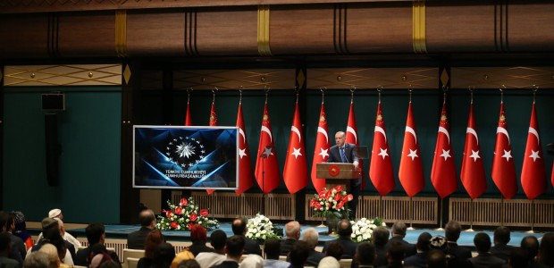 President Erdoğan Welcomed TİKA Coordinators - 3