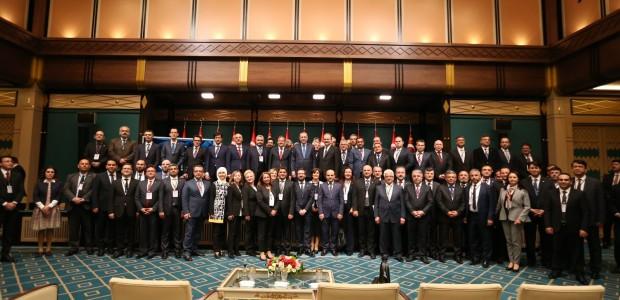 Cumhurbaşkanı Erdoğan, TİKA Koordinatörlerini Kabul Etti  - 13