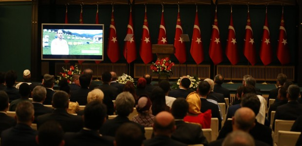 President Erdoğan Welcomed TİKA Coordinators - 9