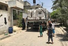 TİKA'dan Filistin'e Gıda Yardımı