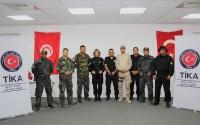 Tunus'ta Jandarma ve Emniyet Personeline Eğitim