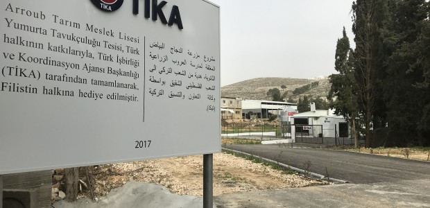 TİKA Built an Egg Poultry Facility in Palestine - 4