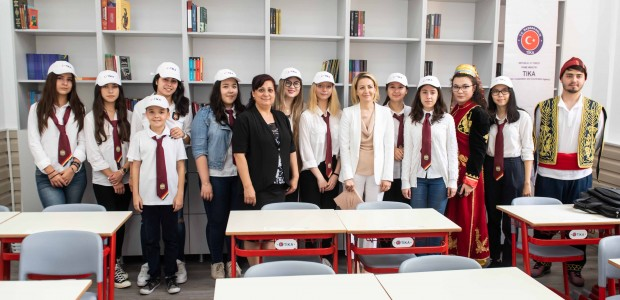 Turkish aid agency repairs 23 classrooms in Romania - 1