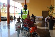 TİKA'dan Komorlara Tekerlekli Sandalye Desteği