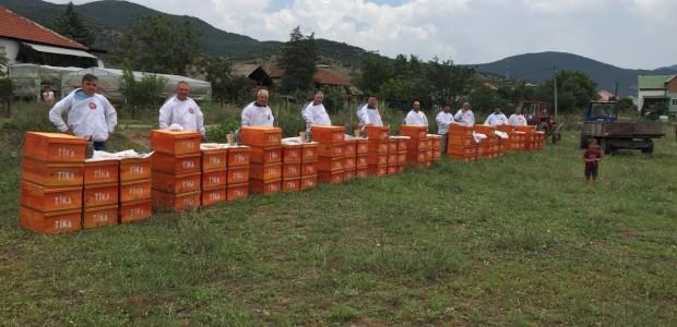 TİKA Develops Beekeeping in Macedonia  - 5