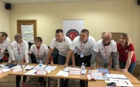 First Aid Training for the Moldova Police Force