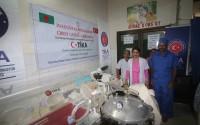 """""""تيكا"""" التركية تقدم أجهزة طبية متنوعة لمستشفى حكومي في بنغلاديش"""