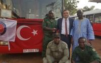 هدية من الرئيس أردوغان.. تشغيل حافلات نقل جماعي في عاصمة غينيا