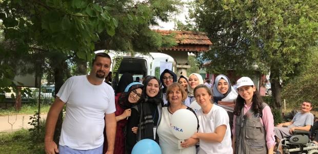 TİKA'dan Makedonya'daki Engelli Hastalara Nakil Aracı  - 4