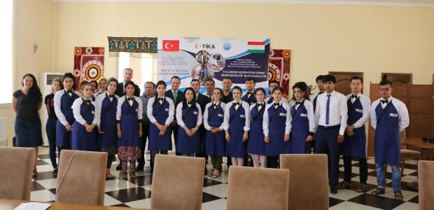 Tourism Education in Tajikistan by TİKA  - 2