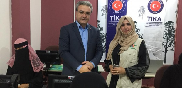 TİKA Offers Support to Family Development Center in Yemen  - 1