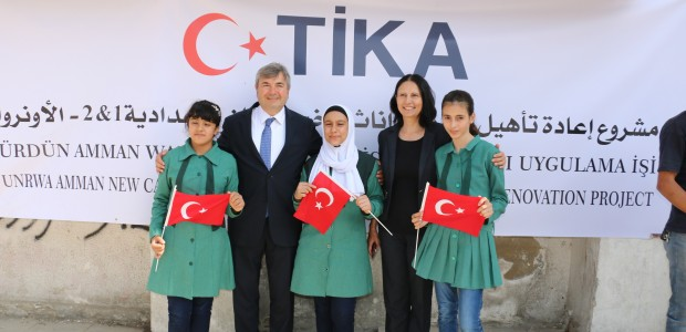 Education Support from TİKA to Palestinian Refugees in Jordan  - 1