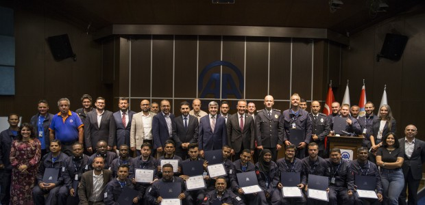 "TİKA and AA's ""War Journalism Training"" Had its New Graduates  - 1"