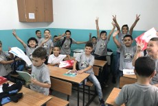 TİKA'dan İşgal altındaki Doğu Kudüs'te Filistinli Öğrencilere Destek